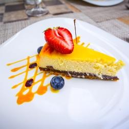 Cheesecake Dessert - Neringa Hotel