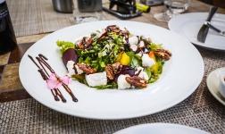 Goat Cheese & Clementine Salad - Neringa Hotel